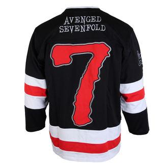 tričko pánske s 3/4 rukávom (dres) Avenged Sevenfold - RED 7 - BRAVADO, BRAVADO, Avenged Sevenfold