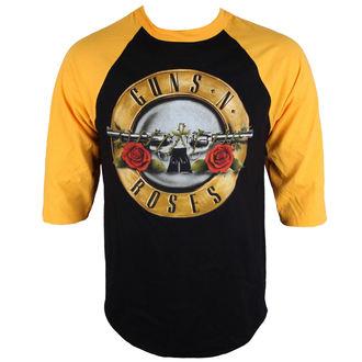 tričko pánske s 3/4 rukávom Guns N' Roses - BULLET - BRAVADO, BRAVADO, Guns N' Roses
