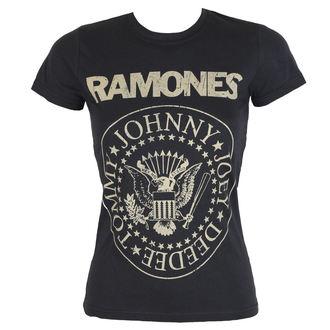 tričko dámske Ramones - DISTRESS CREST - BRAVADO, BRAVADO, Ramones