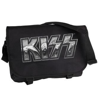 taška Kiss - Iron Logo - PLASTIC HEAD, PLASTIC HEAD, Kiss