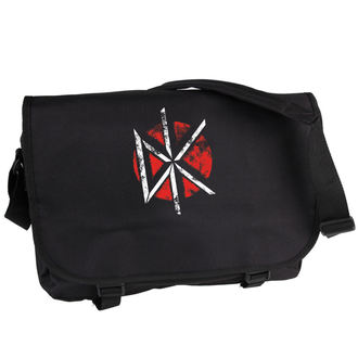 taška Dead Kennedys - Distressed Logo - Black - PLASTIC HEAD - PHBAG101