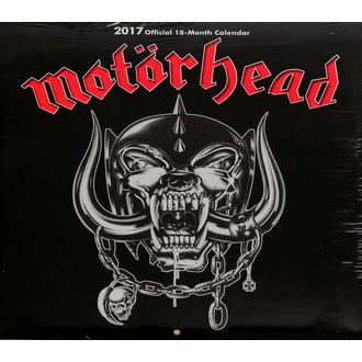 kalendár na rok 2017 Motörhead, Motörhead