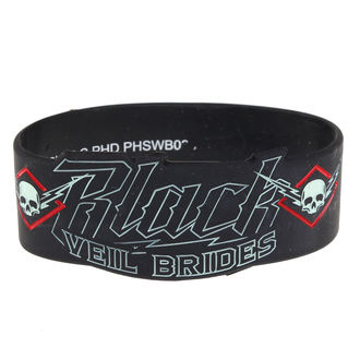 náramok gumový Black Veil Brides - High Voltage - PLASTIC HEAD - PHSWB036