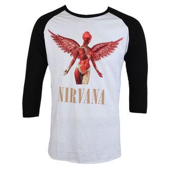 tričko pánske s 3/4 rukávom Nirvana - In Utero - PLASTIC HEAD, PLASTIC HEAD, Nirvana