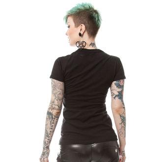 tričko dámske POIZEN INDUSTRIES - BONE CORSET T - BLACK, POIZEN INDUSTRIES