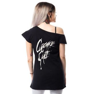 tričko dámske (tunika) CUPCAKE CULT - DEAD INSIDE OFF SHOULDER T - BLACK, CUPCAKE CULT