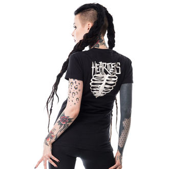 tričko dámske HEARTLESS - I HATE WEDNESDAYS T - BLACK, HEARTLESS