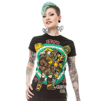 tričko dámske CUPCAKE CULT - STEAMPUNK LEGEND T - BLACK, CUPCAKE CULT