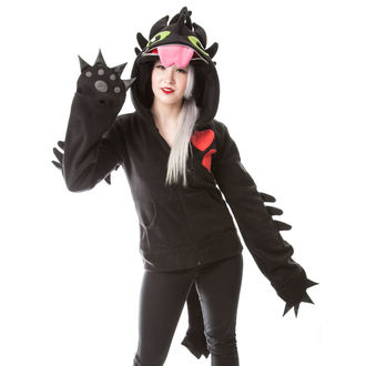 mikina dámska POIZEN INDUSTRIES - DRAGON COSPLAY - BLACK, CUPCAKE CULT