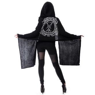 sveter dámsky (cardigan) HEARTLESS - LAZIRUS - BLACK - POI185