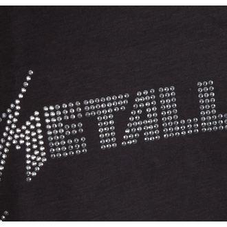 tielko pánske METALLICA - SILVER LOGO DIAMONTE - AMPLIFIED, AMPLIFIED, Metallica