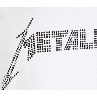 tielko pánske METALLICA - LOGO WHITE - AMPLIFIED, AMPLIFIED, Metallica