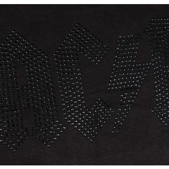 tričko pánske AC/DC - CLASSIC LOGO CHARCOAL BLACK - AMPLIFIED, AMPLIFIED, AC-DC