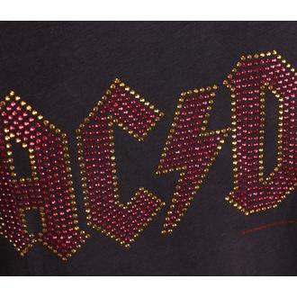 tielko pánske AC/DC - LOGO CHARCOAL - AMPLIFIED, AMPLIFIED, AC-DC