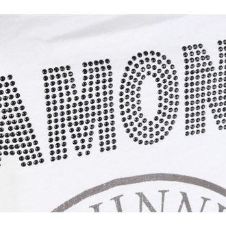tielko dámske RAMONES - LOGO DIAMANTE - WHITE - AMPLIFIED, AMPLIFIED, Ramones