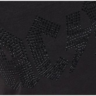 tričko dámske AC/DC - LOGO CHARCOAL BLACK - AMPLIFIED, AMPLIFIED, AC-DC