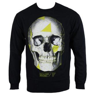 tričko pánske s dlhým rukávom IRON FIST - Black
