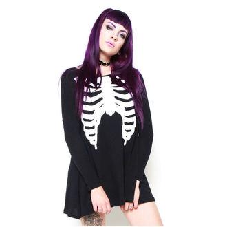šaty dámske IRON FIST - Wishbone Trapeze - IFW004850_Black