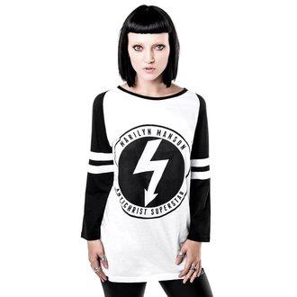 tričko s 3/4 rukávom (unisex) KILLSTAR x MARILYN MANSON - Wormboy, KILLSTAR, Marilyn Manson