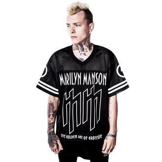tričko unisex (dres) KILLSTAR x MARILYN MANSON - Ka-Boom Ka-Boom, KILLSTAR, Marilyn Manson