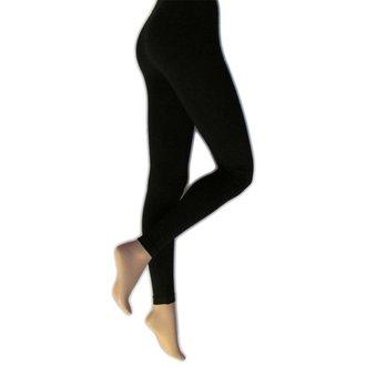 nohavice dámske (legíny) LEGWEAR - everyday - black, LEGWEAR