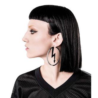 náušnice KILLSTAR x MARILYN MANSON - Number 7 - Silver, KILLSTAR, Marilyn Manson