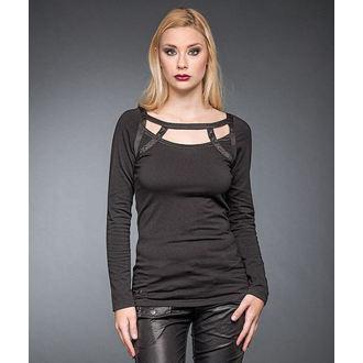 tričko dámske s dlhým rukávom QUEEN OF DARKNESS, QUEEN OF DARKNESS