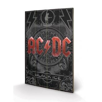 drevený obraz AC/DC - Black Ice, PYRAMID POSTERS, AC-DC