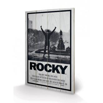 drevený obraz Rocky I, PYRAMID POSTERS