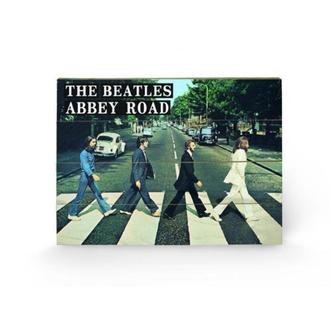 drevený obraz The Beatles - Abbey Road, PYRAMID POSTERS, Beatles