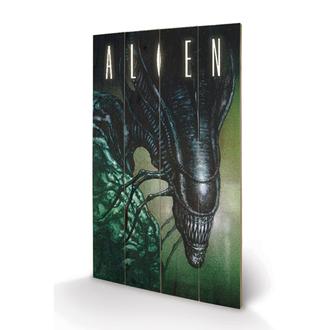 drevený obraz Alien - Creep - Pyramid Posters