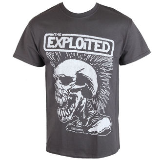tričko pánske Exploited - VINTAGE SKULL - RAZAMATAZ, RAZAMATAZ, Exploited