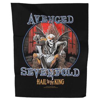 nášivka Avenged Sevenfold - HAIL TO THE KING - RAZAMATAZ, RAZAMATAZ, Avenged Sevenfold