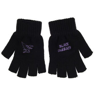 rukavice Black Sabbath - PURPLE LOGO & DEVIL - RAZAMATAZ, RAZAMATAZ, Black Sabbath