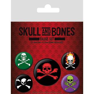 odznaky Skull and Bones, PYRAMID POSTERS