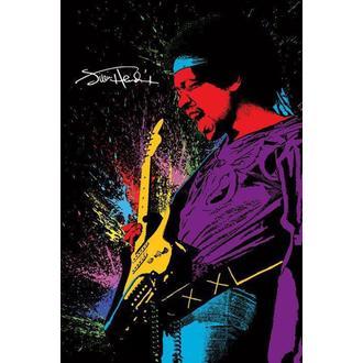 plagát Jimi Hendrix - Paint, PYRAMID POSTERS, Jimi Hendrix