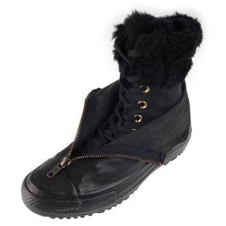 topánky dámske zimný CONVERSE - CTAS Hi Rise Boot Shroud - BLK / BLK / BLK, CONVERSE