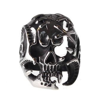 prsteň ETNOX - Skull, ETNOX