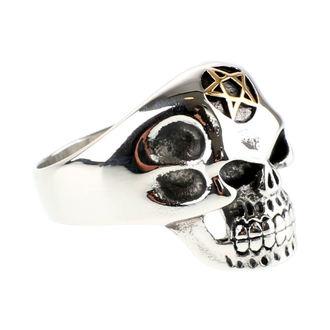prsteň ETNOX - Big Pentagram Skull, ETNOX