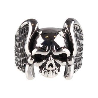 prsteň ETNOX - Winged Skull, ETNOX