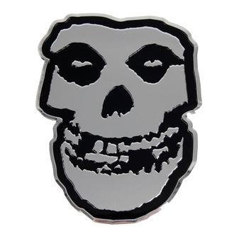 nálepka stredná (kovová) Misfits - Skull, C&D VISIONARY, Misfits