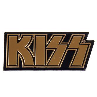 nálepka najmenších (kovová) KISS - Logo, C&D VISIONARY, Kiss