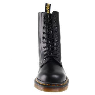 topánky DR. MARTENS - 10 dírkové - DM 1490 BLACK SMOOTH, Dr. Martens