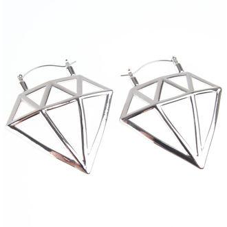 náušnice INOX - 20G DIAMOND, INOX