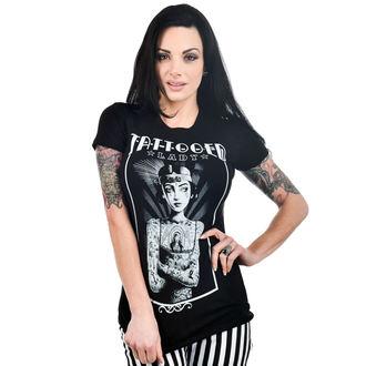 tričko dámske TOO FAST - BABYDOLL - Tattooed LADY, TOO FAST