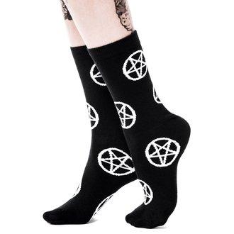 ponožky KILLSTAR - Pentagram, KILLSTAR