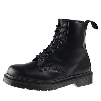 topánky Dr. Martens 8 dierkové - DM 1460 MONO BLACK SMOOTH, Dr. Martens