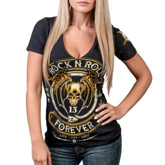 tričko dámske WORNSTAR - Rock N Roll Forever, WORNSTAR