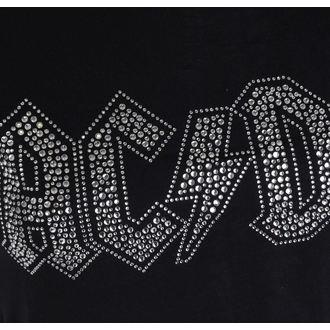 tričko dámske AC/DC - Logo - ROCK OFF, ROCK OFF, AC-DC