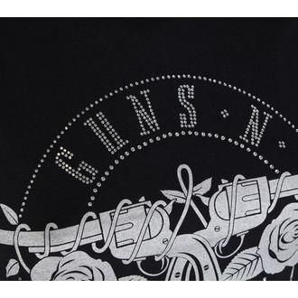 tričko dámske Guns N Roses - Circle Logo - ROCK OFF, ROCK OFF, Guns N' Roses